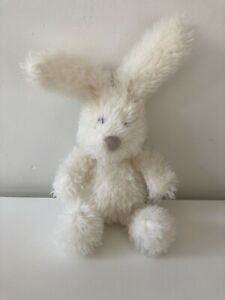 Jellycat - Angora Bunny -  Soft Fluffy White Rabbit - Retired