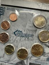 More details for san marino 🇸🇲8x coins set 2012 fdc 1cent to 2€ euro folder official carpenter
