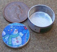 1:12 Scale Empty Biscuit Tin Tumdee Dolls House Kitchen Food Accessory Bt24
