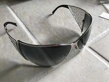 Montblanc MB185s Sunglasses MB 185s F80 72 11 125 Defect READ Silver Swarovski