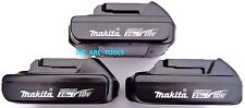 (3) NEW 18V GENUINE BL1820 2.0 AH Makita Batteries 18 Volt Compact For Drill LXT