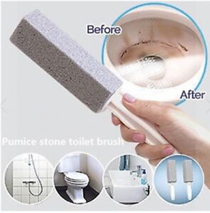 Pumice Stone Scouring Handle Stick TOILET. OVEN. GRILL. KITCHEN. Stain Remover
