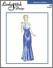 Intrigue / sewing pattern for the Silkstone Barbie doll