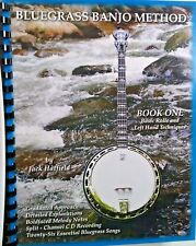 Bluegrass Banjo Method Book/CD Jack Hatfield Book One Split-Channel CD NEW! #1