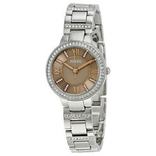 Fossil Virginia Taupe Dial Ladies Watch ES4147