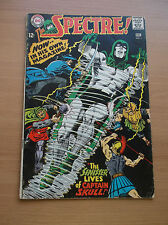 "DC: THE SPECTRE #1, ""THE SINISTER LIVES OF CAPTAIN SKULL!"", 1967, GD (2.0)!!!"