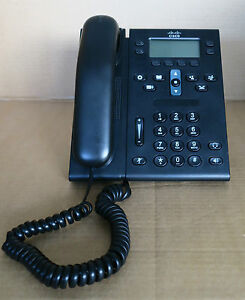 10 x Cisco CP-6941-CL-K9 Unfied IP VoIP Telephone Phone Charcoal+Handset & Stand