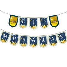 Eid Ramadan Mubarak Ramadan Bunting Banners Islam Festival Party Supplies Decor
