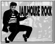 elvis presley plaque Affiche jailhouse rock rockabilly IMAGE Merchandising 204