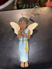 2001 Blackshear A Bright And Morning Star Angel Ornament & Coa