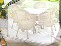 Outdoor Garden Furniture Cover Protective Case Tarpaulin Waterproof Protective P