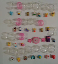 24 Squinkies & Accessories -- Hello Kitty & Friends, Cats, Bed, Chairs & Food