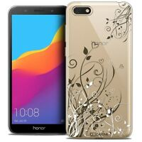 "Coque Gel Pour Huawei Y5 2018 (5.4"") Souple Love Hearts Flowers"