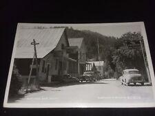 Real Photo Postcard Chevron Sawyers Bar CA Vtg 1950s Eastmans Studio B10016 RPPC