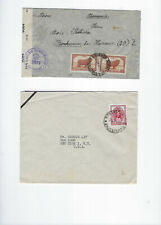 ARGENTINA-COVERS-(12)-OLDER--EXTERNAL USE--USED-FINE-NICE FRANKING-#511