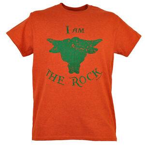 I Am The Rock Johnson Ballers Catcheur Hommes Orange Bouleversé T - Shirt