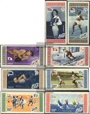 Dominikanische Republik 660A-667A (kompl.Ausg.) postfrisch 1958 Olymp. Spiele in