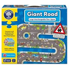 Orchard Toys Giant Road Jigsaw - Design Lots of Different Road Layouts