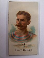1887 GEORGE H. HOSMER Allen & Ginters Cuts Rowing Card RARE