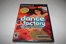 Dance Factory Sony Playstation 2 PS2 Video Game New Sealed
