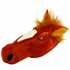Horse Animal Funny Nag Neddy Stag Do Hat Adult Fancy Dress Accessory