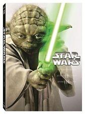 Star Wars 1 2 3 Prequel Trilogy The Phantom Menace Attack of Clones Revenge Sith