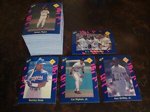 1990 Classic Blue Baseball---Complete Set 1-150---NrMt