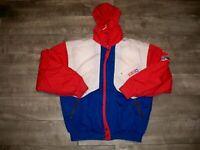 Vtg CCM Miracle on Ice Hockey Tour Men's Team 91 Puffer Puffy Jacket Coat 48 XL