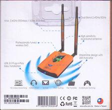 Alfa AWUS052NH  Dual Band 802.11a/b/g/n  MIMO WiFi Wireless USB WiFi Adapter