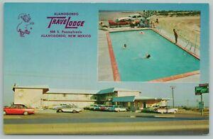 Alamogordo New Mexico~Travel Lodge Motel~Vintage Postcard