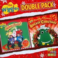 THE WIGGLES Santa's Rockin'/Dorothy The Dinosaur's Rockin' Christmas 2CD NEW