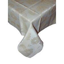 Tovaglia Copritavola  x 6 jacquard lucido rettangolare copri tavolo avorio