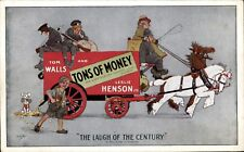 Theatre Advertising. Tons of Money by Hassall. Walls & Henson. Plymouth & London