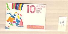 1989 Greetings booklet, engeland,UK, GB, unmounted mint