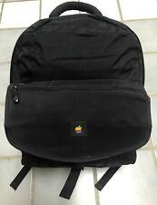 Vintage 1990's Apple Multicolored Logo Back Pack