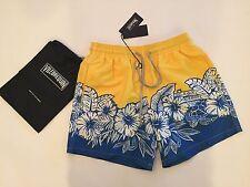 S & Bag Authentic Vilebrequin Moorea Yellow Swim Trunks - Men XL