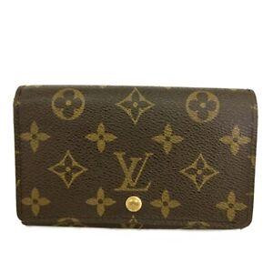 Louis Vuitton Monogram Porte Monnaie Billets Tresor Bifold Wallet /C1378