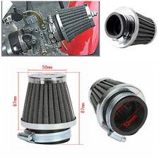 SUZUKI GSXR750 86-87 JBS PERFORMANCE 52mm CHROME POD AIR FILTER CLEANER SET 4