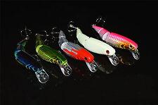 5PCS Fishing Multi section Lure 3 Segment Swimbait Crankbait Minnow 11cm/15g