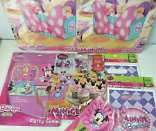 Minnie Mouse Birthday Favor Loot Bag Game Snack Caddy Decor Lot Disney Hallmark