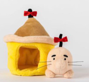 Dosei-san Mr. Saturn and House Plush 2021 Earthbound Mother 2 Project Japan New