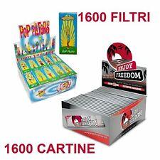 50 Filtri Pop Filters Di Carta Blocchetti Libretti Filtri Per Sigarette linq