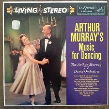 Arthur Murrays Music for Dancing TV Orchestra LP Records Vinyl Album LSP-1909