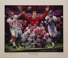 "Alabama football Tua 2017 Champions ""Second and Twenty Six"" print signed Moore"