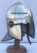 Medieval Armor Norman Viking Roman Knight Helmet -Re-enactment SCA Larp Costume