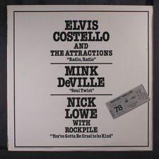 NICK LOWE, ELVIS COSTELLO, & MINK DEVILLE: Now See Them Live! Spring '78 12 (dj