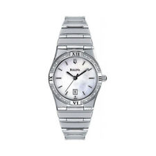BULOVA 96R009 LADIES WATCH STAINLESS STEEL WINDEMERE MOTHER OF PEARL DRESS WATCH