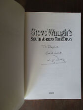 Steve Waugh South African Tour Diary SIGNED + Out of My Comfort Zone + 97 Ashes