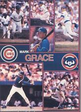 MONSTER POSTER: MLB BASEBALL: MARK GRACE - CHICAGO CUBS - #PW-SLMP-MG  RAP130 C
