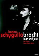 Schygulla, Hanna - 2001-TOUR MANIFESTO-Brecht qui e ora-TOUR Poster